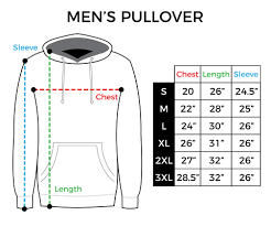 Ali And Kris Size Chart Size Chart Mens Pullover Hoodie Inkaddict