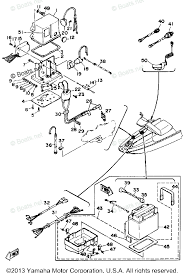yamaha waverunner parts 1989 oem parts diagram for electrical