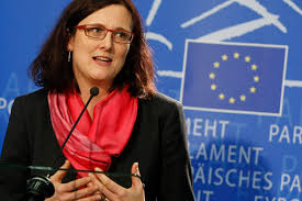 Image result for Cecilia Malmström