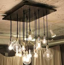 diy bulb chandelier light bulb chandelier home design ideas throughout plans diy exposed bulb chandelier