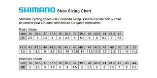 Shimano Shoe Size Chart Shimano Shoe Mtb M089l
