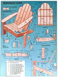 adirondack chair plans. Classic Adirondack Chair Plans - Outdoor Furniture