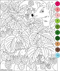 Free Printable Color By Number Pages For Adults Colouring Books In