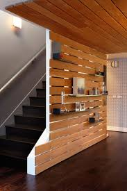 view patio modern slat what if we had a solid painted wall behind with enough spacing to see