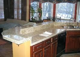 waterfall granite countertop latest design engineered granite brand waterfall eased edge sensa waterfall granite kitchen countertop