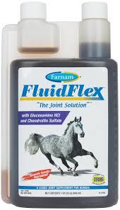 Equine Joint Supplement Comparison Chart Fluidflex Liquid Joint Supplement For Horses Farnam Liquid