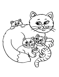 Print & Download - cat coloring pages online -