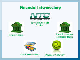 financial interary in financial transaction