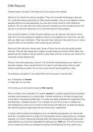 7911024 cna resume help bizdoskacom nurse aide resume