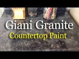 giani granite countertop paint review