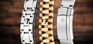 A Guide To Rolex Bracelets Strapsco