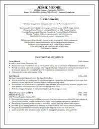 Nursing Resume Free Nurse Examples Assistant Templates Template 03