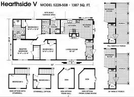 quality double wide mobile home floor plans