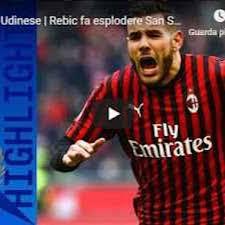 Milan - Udinese 3-2 - Gol e Highlights - Giornata 20 - Serie ...