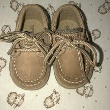 Sperry Infant Shoe Size Chart Boys Sperry Topsiders Toddler Size 1 Tan