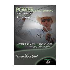 power team roping method 4 heading dvd