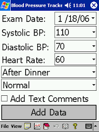 Track My Blood Pressure Free Blood Pressure Tracker Log And Analyze Your Blood Pressure
