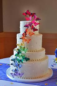 Looking For A Butterfly Wedding Cake For Your Cardiff Wedding