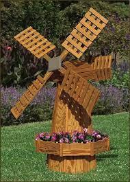 a garden windmill is a great idea
