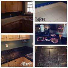 how paint tile countertops painting kitchen adorable likeness the 25