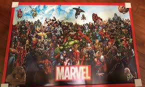 hi i got this poster but don t know many marvel characters i would really appreciate it if you know any to just leave what their name is or who they are