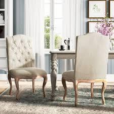 bernadine upholstered dining chair set of 2