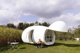 Small Picture Blob An Unusual Micro Home Encased in Storage