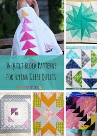 36 Quilt Block Patterns for Flying Geese Quilts | FaveQuilts.com & 36 Quilt Block Patterns for Flying Geese Quilts Adamdwight.com