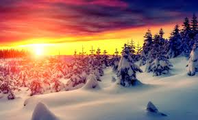 winter mac backgrounds winter sunrise wallpaper one wallpapers