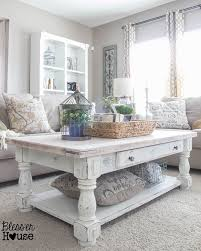 Exceptional ... Lovely Ideas White Living Room Tables Smartness 78 Ideas About White  Coffee Tables On Pinterest ...