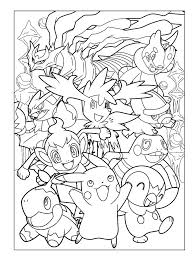 Pokemon Characters Coloring Pages Coloring Pages Characters Coloring