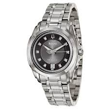 bulova precisionist 96d110 men s watch watches bulova men s precisionist longwood watch