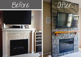 hirondelle rustique diy stacked stone fireplace first replacing electric fireplace insert install a fireplace insert