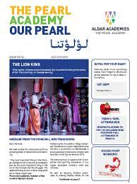 News Letters Our Newsletters Aldar Academies Abu Dhabi Uae The Pearl