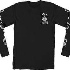 spitfire x deathwish. spitfire x deathwish bighead longsleeve shirt