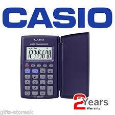 Casio Hl 820ver Pocket Calculator Euro Conversion With