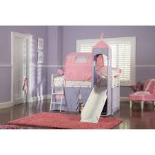 Princess Castle Bedroom Twin Size Bed Tent Powell Princess Castle Twin Size Tent Bunk Bed