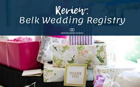 review belk wedding registry