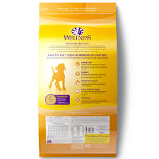 Wellness Complete Health Chicken Oatmeal Salmon Meal Recipe Puppy Dry Dog Food 30 Lb