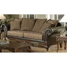 Serta Living Room Furniture Chelsea Home Serta Ronalynn Sofa San Marino Chocolate Walmartcom