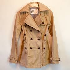 American Eagle Trench Pea Coat Vintage Fit Size S