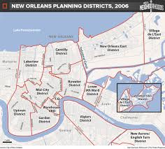 new orleans planning districts map