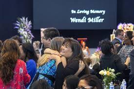 Overflow crowd remembers Costa Mesa woman found slain in Newport Beach -  Los Angeles Times