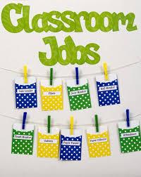 Classroom Monitors Chart Library Pockets Classroom Jobs Chart Classroom Job Chart