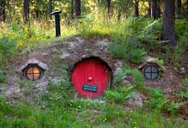 A 1,000 square foot guest retreat -- the Hobbit House of Montana -- is  available as a unique vacation rental.