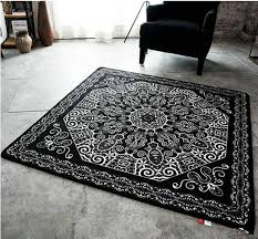 modern black and white carpet door square sofa living room rug table mat canada 2019 from flaminglily cad 71 68 dhgate canada