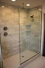 walk in shower lighting. In Shower Light Added Recessed Lighting And A New Hexagon White Tile Floor With Gray Grout Kids Showers No Glass Walk Fixture Code R