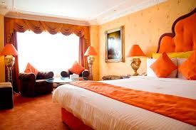 Orange And Yellow Bedroom Design Ideas