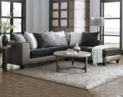 Two Loveseats In Living Room Dark Grey And Metallic Shimmer Magnetite Two Piece Sectional