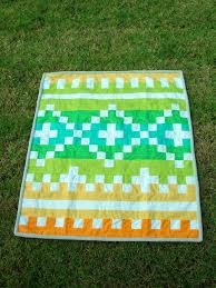 1 fat quarter fq from here on out of amelia orange 1 fq goldenrod yellow 2 fq pistachio green 1 fq green the darker green 1 fq turquoise 1 2 yd white